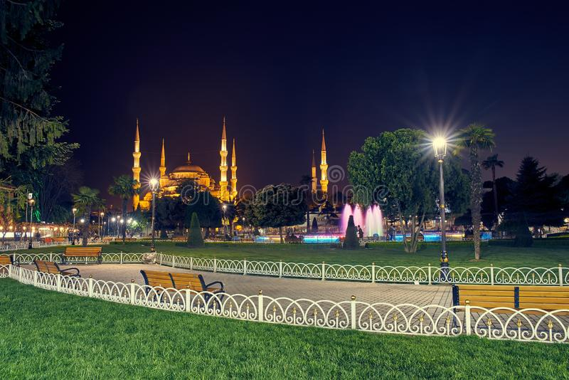 Sultan Ahmed Mosque stockfoto