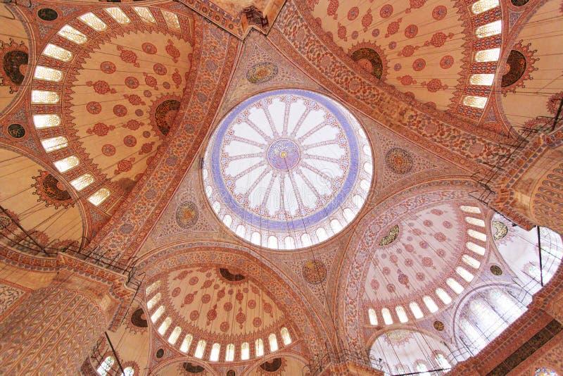 Sultan Ahmed Mosque arkivfoton