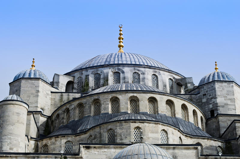 Sultan Ahmed Mosque conocido como la mezquita azul en Estambul, Turquía fotos de archivo