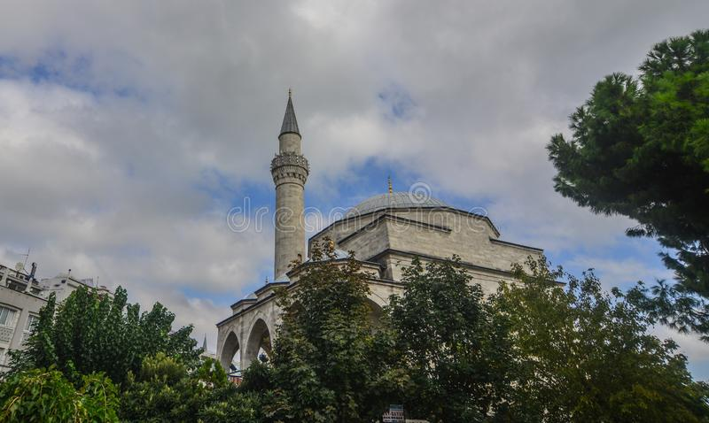 Sultan Ahmed Mosque a Costantinopoli, Turchia fotografia stock