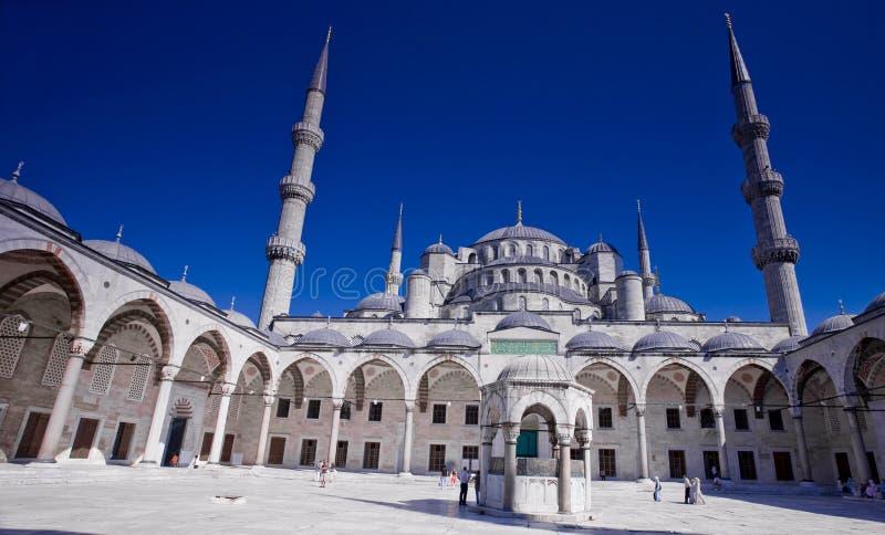 Sultan Ahmed Mosque Istanboel stock afbeelding