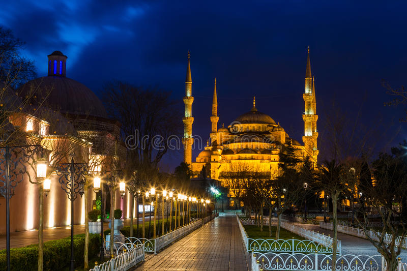 Sultan Ahmed Mosque in Istanbul stockfoto
