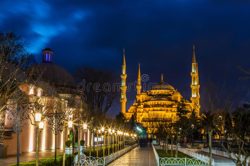 Sultan Ahmed Mosque in Istanbul stockfotos
