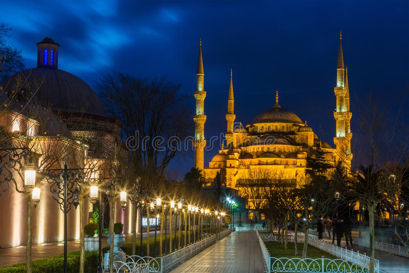 Sultan Ahmed Mosque in Istanbul stockbild