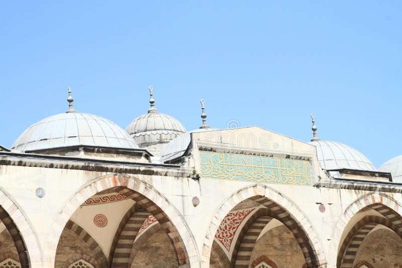 Sultan Ahmed Mosque in Istanbul. Sultan Ahmed Mosque or Blue Mosque in Istanbul, Turkey royalty free stock photography