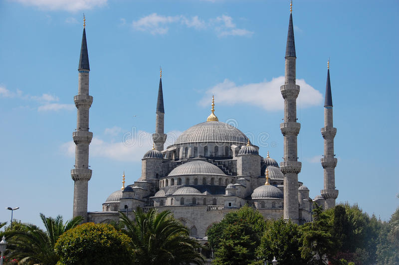 Sultan Ahmed Mosque, Istanbul Turkey. Sultan Ahmed Mosque, also known as the Blue Mosque in Istanbul Turkey stock photos