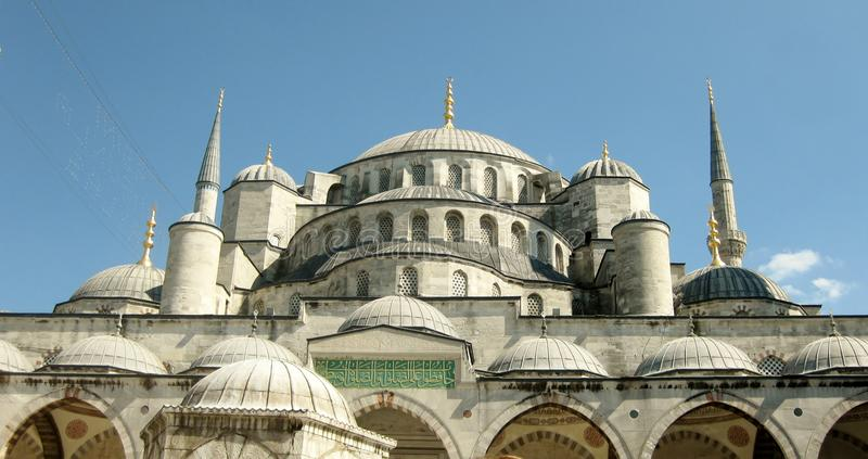 Sultan Ahmed Mosque, Istanbul stock image