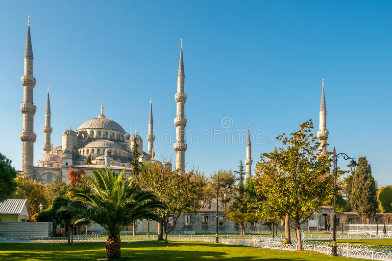 Sultan Ahmed Mosque (moschea blu) immagini stock