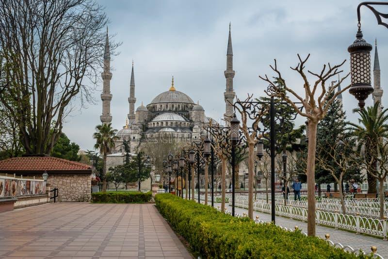 Sultan Ahmed Mosque/mosquée bleue, Istanbul, Turquie photo libre de droits