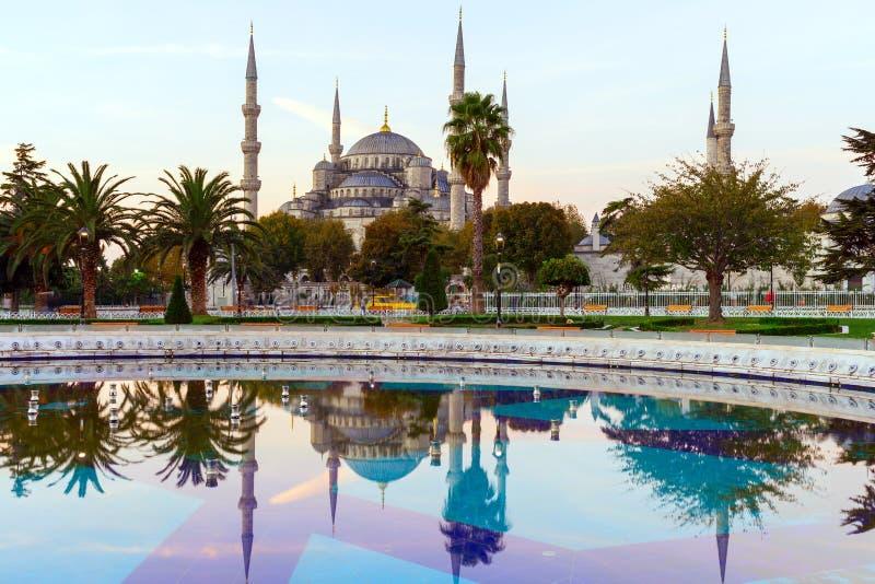Sultan Ahmed Mosque & x28; Mosque& blu x29; , Costantinopoli, Turchia immagini stock libere da diritti