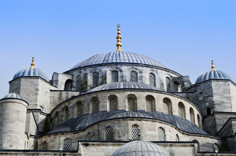 Sultan Ahmed Mosque som är bekant som den blåa moskén i Istanbul, Turkiet arkivfoton