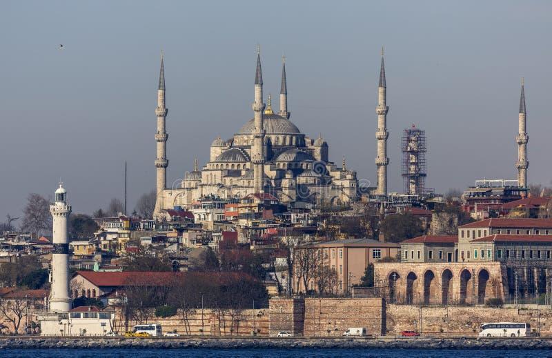 Sultan Ahmet Mosque royaltyfria foton