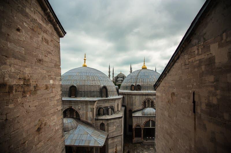 Sultan Ahmet Square, Istanbul, die Türkei lizenzfreie stockfotografie