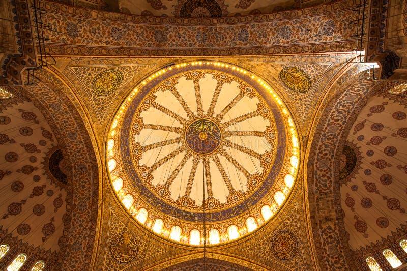 Sultan Ahmet Square, Istanbul, die Türkei stockbild