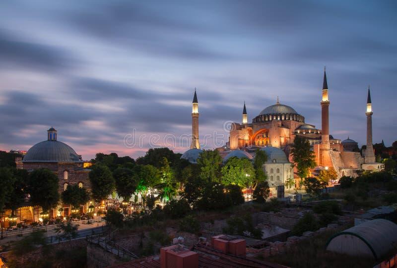Sultan Ahmet Square, Istanbul, die Türkei lizenzfreie stockbilder