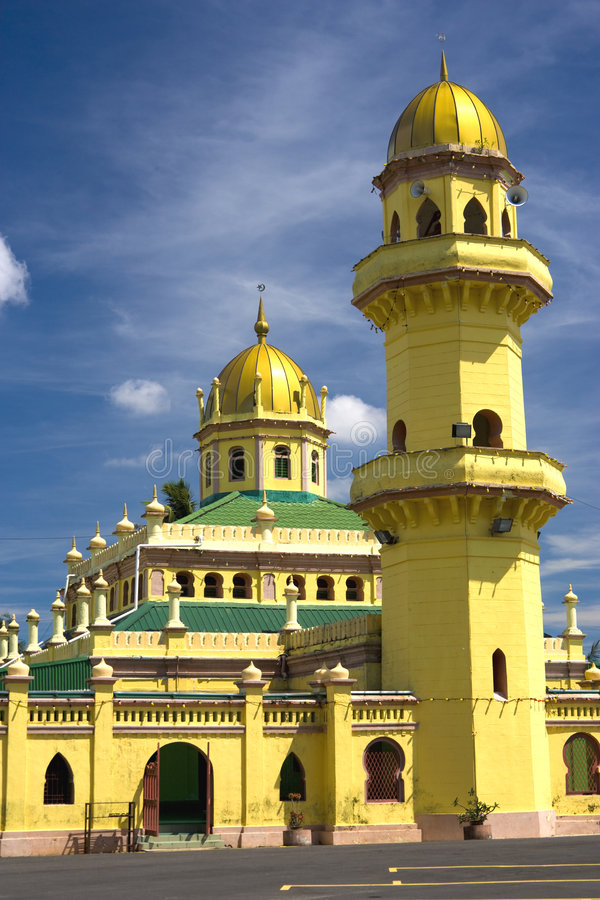 Sultan Alaeddin Mosque, Malaysia stock images