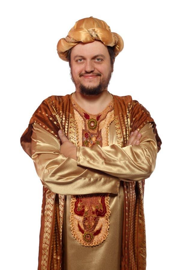 Download Sultan, carnival costume stock photo. Image of costume - 27804320