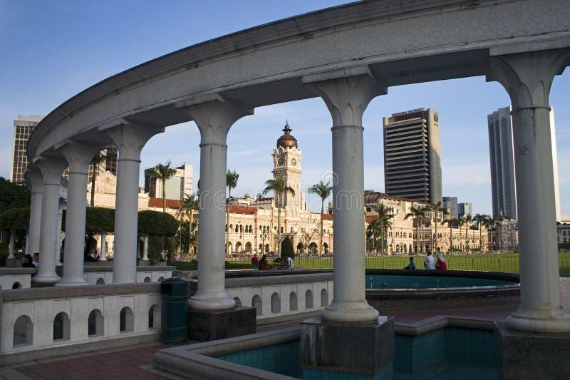 sultan för abdul byggnadssamad royaltyfri fotografi