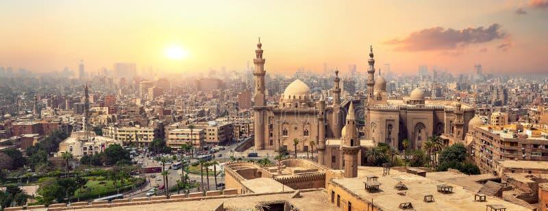 Sultan Hassan i Kairo arkivbild
