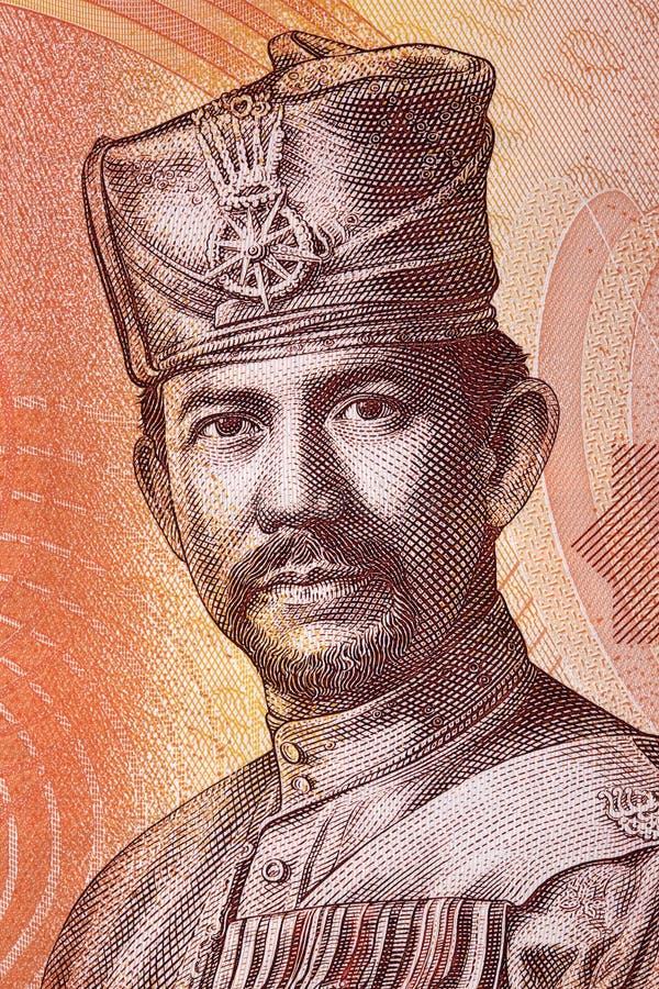 Sultan Hassanal Bolkiah stående arkivfoton