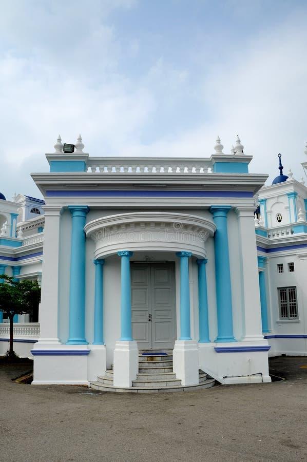 Sultan Ibrahim Jamek Mosque på Muar, Johor arkivfoto