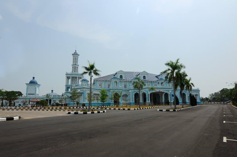 Sultan Ismail Mosque i Muar arkivbild