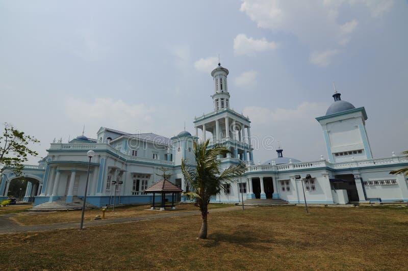 Sultan Ismail Mosque i Muar royaltyfri bild