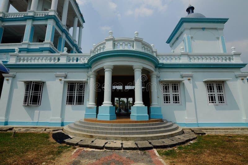 Sultan Ismail Mosque i Muar arkivfoton