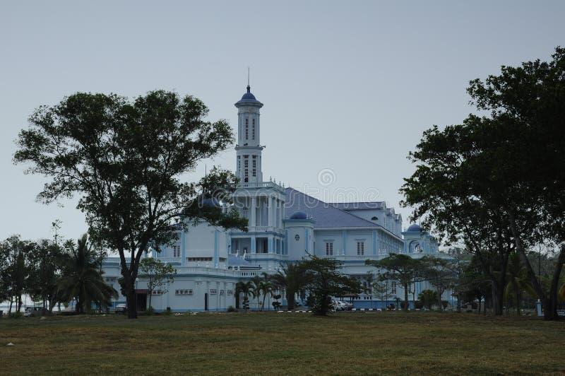 Sultan Ismail Mosque i Muar fotografering för bildbyråer
