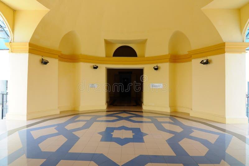 Sultan Ismail Mosque in Muar, Johor, Maleisië stock fotografie