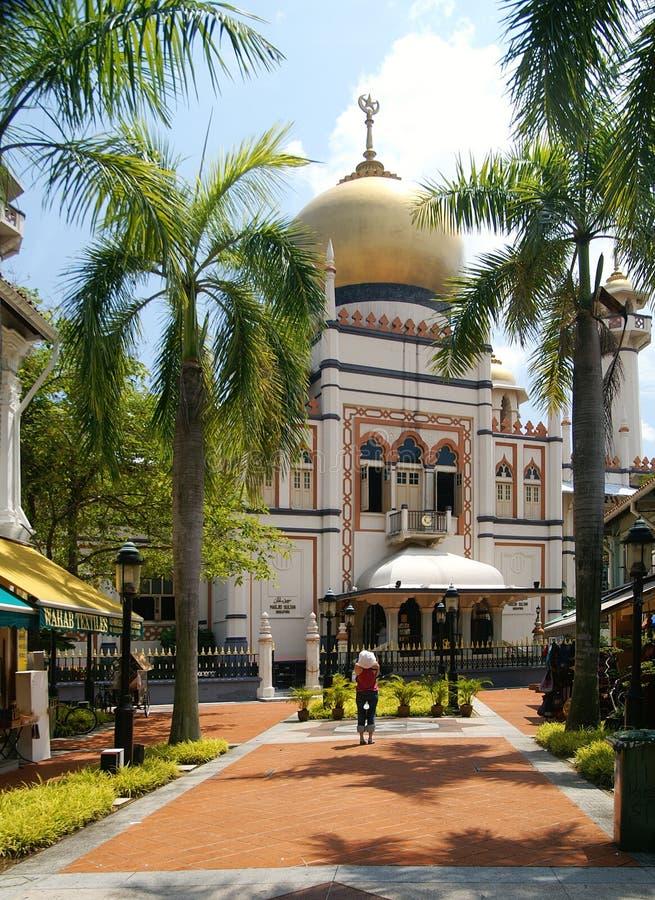 Sultan Mosque Singapore stock image