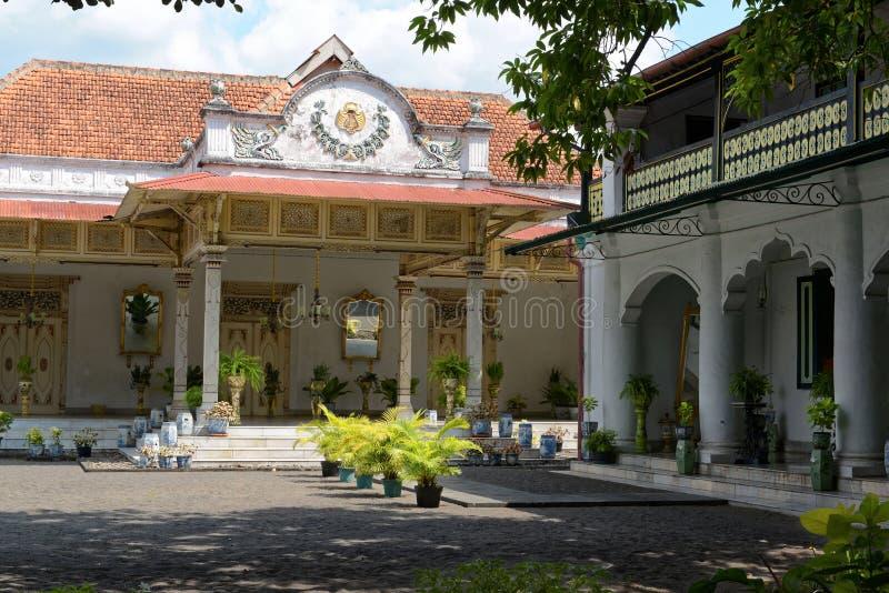 Sultan Palace in Yogyakarta stock image