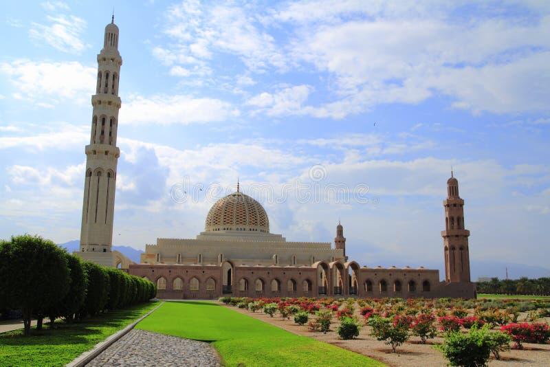Sultan Qaboos Grand Mosque royalty-vrije stock foto's