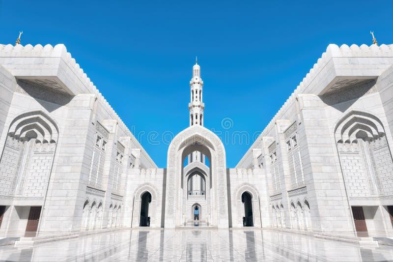Sultan Qaboos Grand Mosque, Muscat, Oman image stock