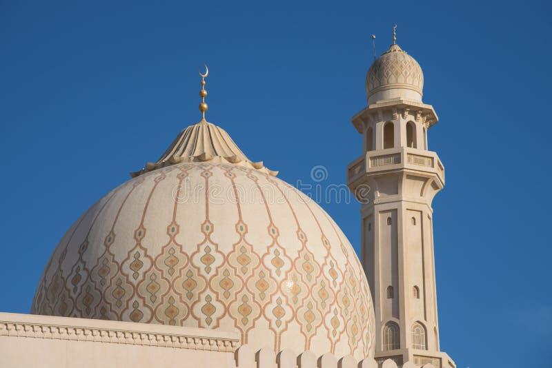 Sultan Qaboos Grand Mosque Salalah, Oman royaltyfri fotografi