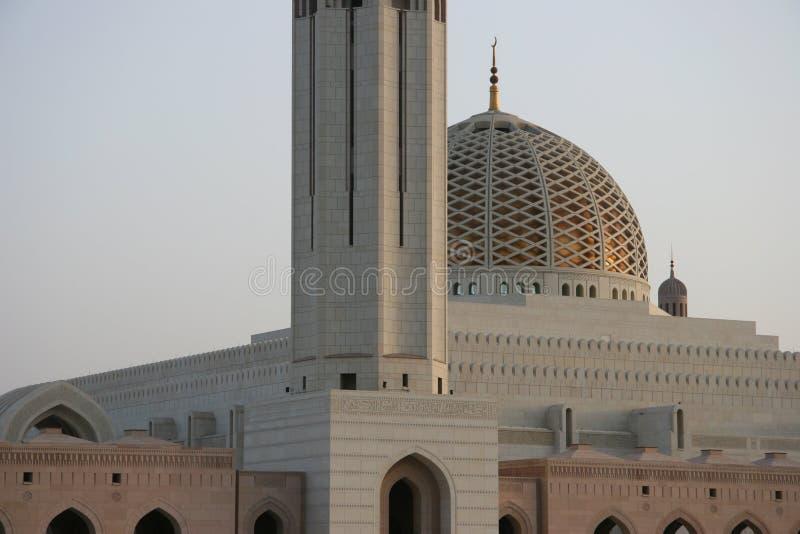 Sultan Qaboos mosk in Oman lizenzfreies stockfoto