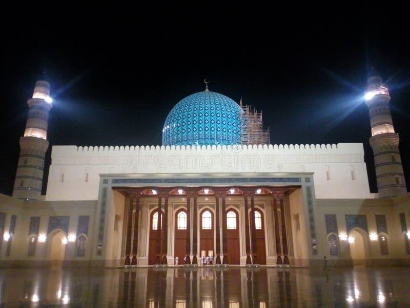 Sultan Qaboos Mosque Sohar royalty-vrije stock fotografie