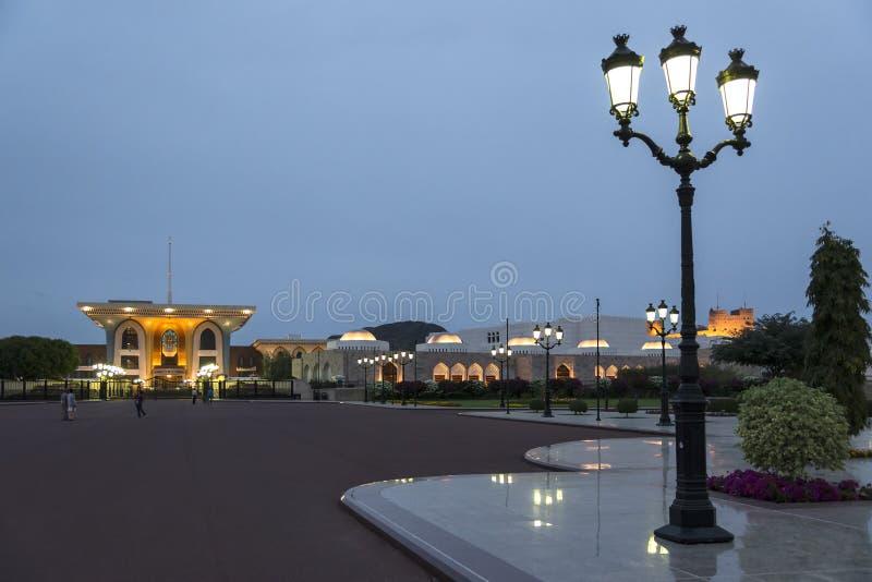 Sultan Qaboos Palace arkivfoton