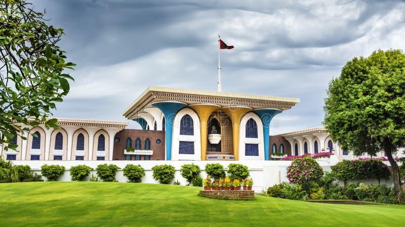 Sultan Qaboos Palace arkivbild