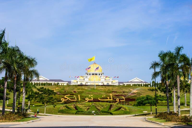 Sultan's palace, Kuala Lumpur, Malaysia royalty free stock images