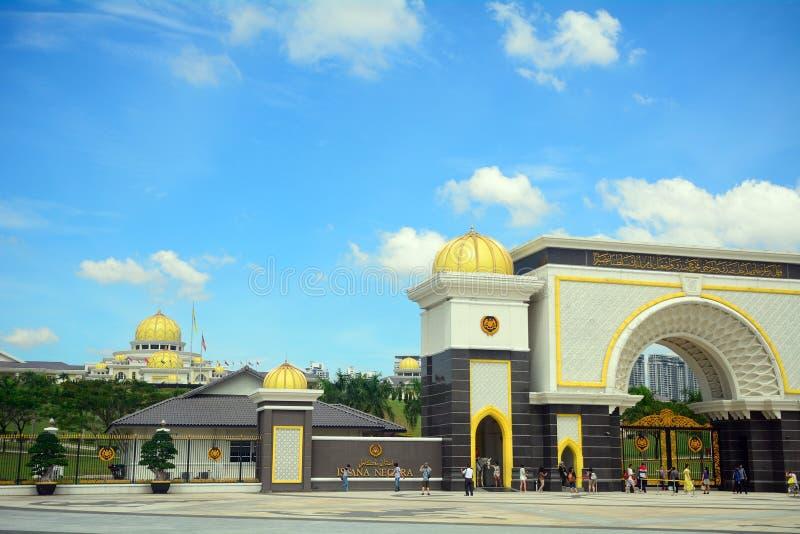 Sultan's palace, Kuala Lumpur, Malaysia royalty free stock image