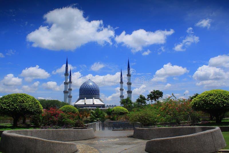 Sultan Salahuddin Abdul Aziz Mosque images libres de droits