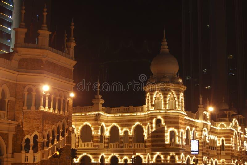 Sultanabdul samad Gebäude lizenzfreie stockbilder
