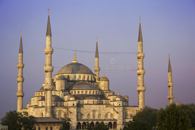 Sultanahmet (蓝色)清真寺 库存照片