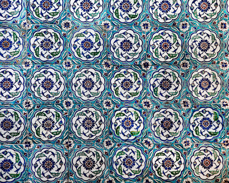 Download Sultanahmet Blue Mosque Interior - Tiles Stock Image - Image of architecture, dome: 28343521