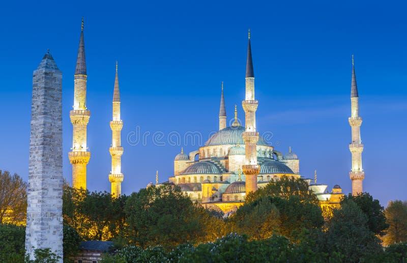 Sultanahmet Camii/mesquita azul, Istambul, Turquia fotografia de stock royalty free