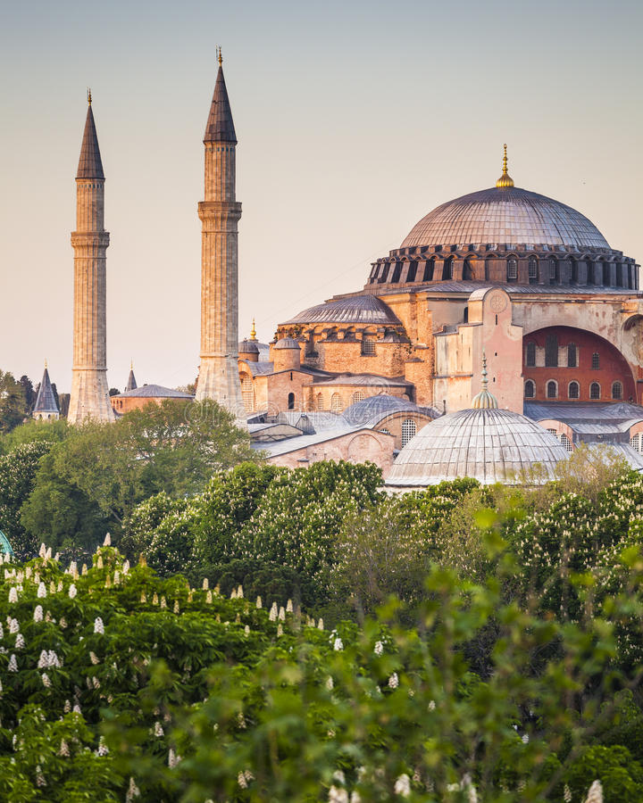 Sultanahmet Camii/mesquita azul, Istambul, Turquia fotografia de stock