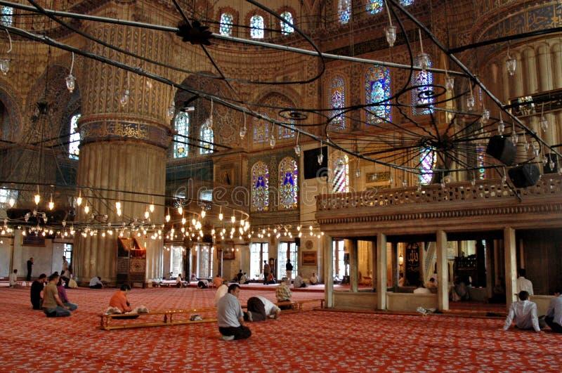 Sultanahmet Camii (mezquita azul) - Estambul fotos de archivo