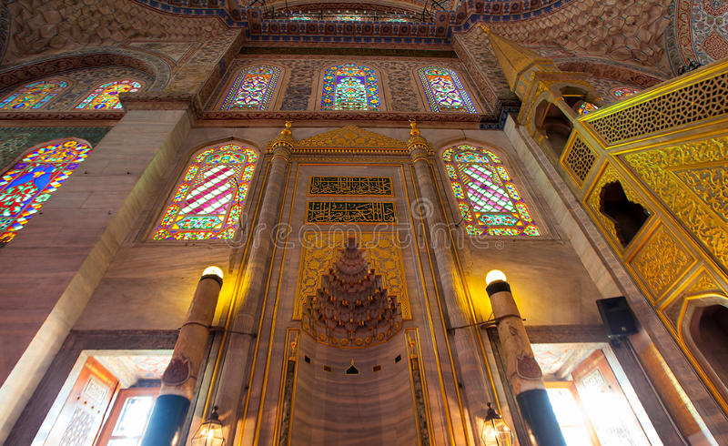 Download Sultanahmet Mosque stock image. Image of istanbul, light - 40050775