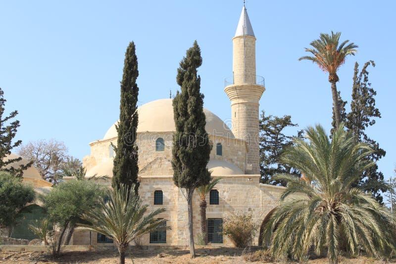 Sultano Tekke di Hala fotografia stock libera da diritti